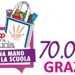 Novacoop Una mano per la scuola 2016 - grazie